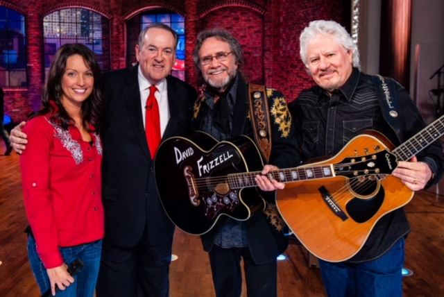 DAVID FRIZZELL PERFORMS ON HUCKABEE