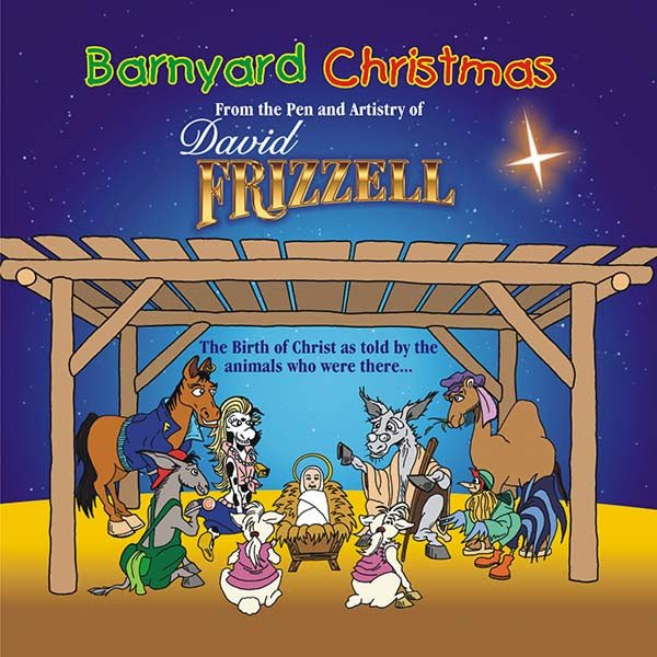 David Frizzell's 'Barnyard Christmas' CD and Storybook Available Now